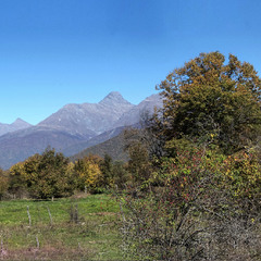 осень на Кавказе