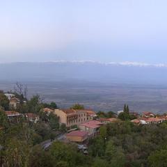 Закат над Алазанской долиной