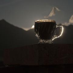 кофе в облаках