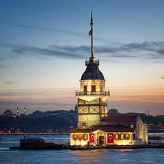 Стамбул, Девичья башня.