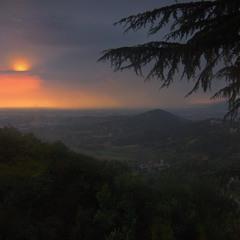 Sunset Bergamo