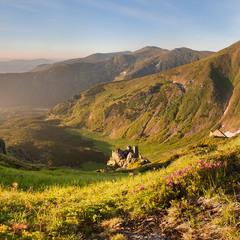 Тихий ранок Чорногори