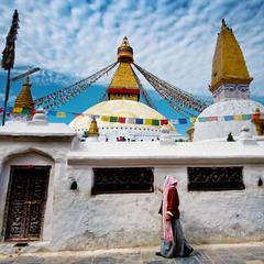 Ступа Боднатх, Катманду