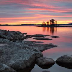 Карельские озера. Ковдозеро