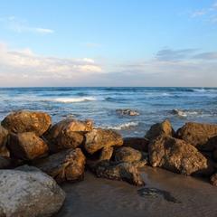 Море утром сегодня