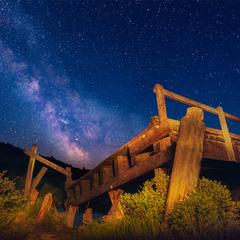 Старый мост, провинция Саскачеван, Канада