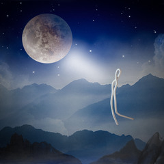 Лунное притяжение...