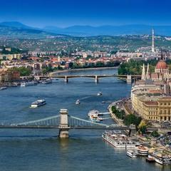 Парим над Дунаем!