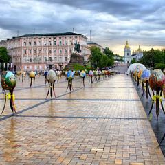 Великодній тиждень у Києві триває