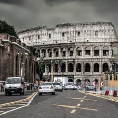 Рим. Перед грозой