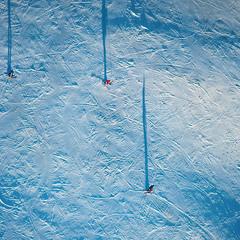 Лыжная пастель