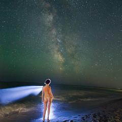 И звёздное небо над головой...