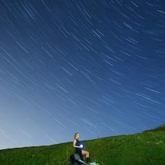 Звездное небо над головой...