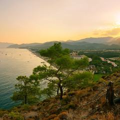 Закат на Средиземном...