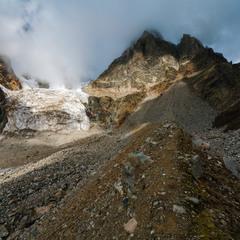 Ледник у подножия Ушбы...