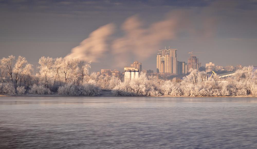 знак морозное утро в городе фото можно получить, даже