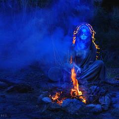 Общение с  духами