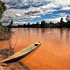 Річка Меконг, Камбоджа.