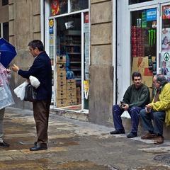 Життя в спілкуванні. Вулиці Барселони