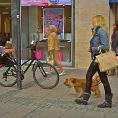 Пані з собачкою... Мюнхен