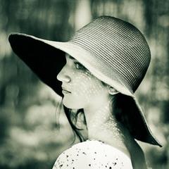 портрет з цікавими тінями