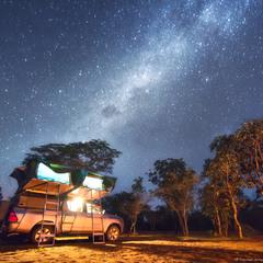 Жизнь под звездами (Намибия, деревня бушменов)