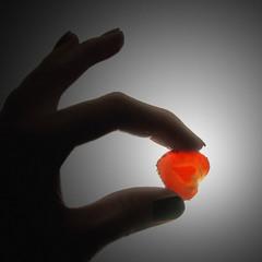 Серце полунички