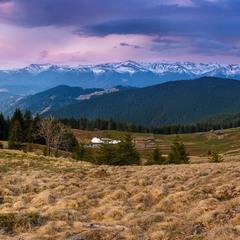Весняна Чорногора на світанку
