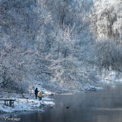 Зимова рибалка по-тернопільськи.