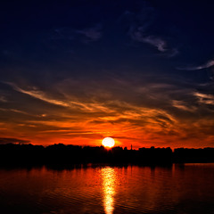 закат на Турии