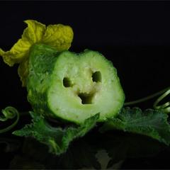 Огірковий усміхайлик :)