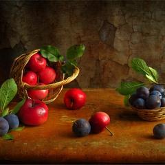 Яблучно-сливовий