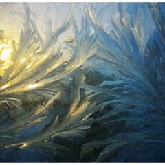 Ice sunrise