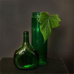Зелёное стекло