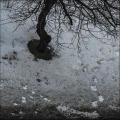 Сегодня ночью мне во сне, нападал в душу чёрный снег...
