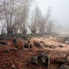 За туманом