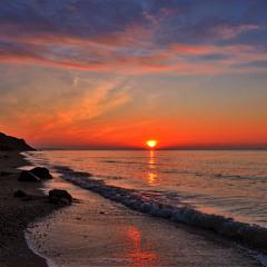 Scarlet Sunrise