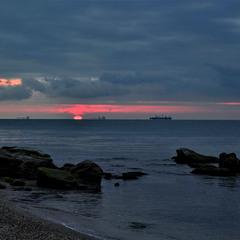 На початку сходу сонця