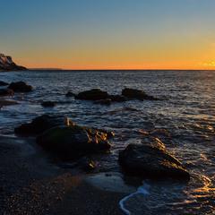 Bright Morning Over the Sea