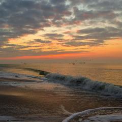Six minutes before sunrise