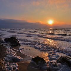 December Morning at  Sea
