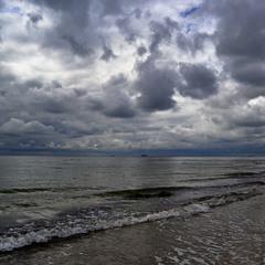 Cloudy Sky over Sea