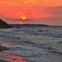 Crimson Sunrise