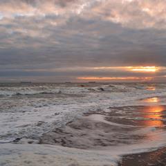 Море предзакатное