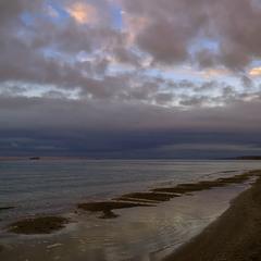 La mer à 8h du matin