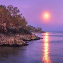 Рассвет на закате
