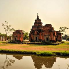 Буддистские развалины