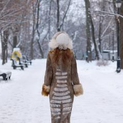 Зимнее ню.