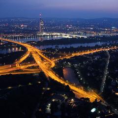 Артерии ночного города.