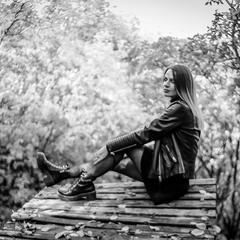 Черно-белая осень